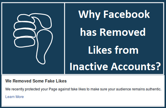 Why Facebook has Removed Likes from Inactive Accounts