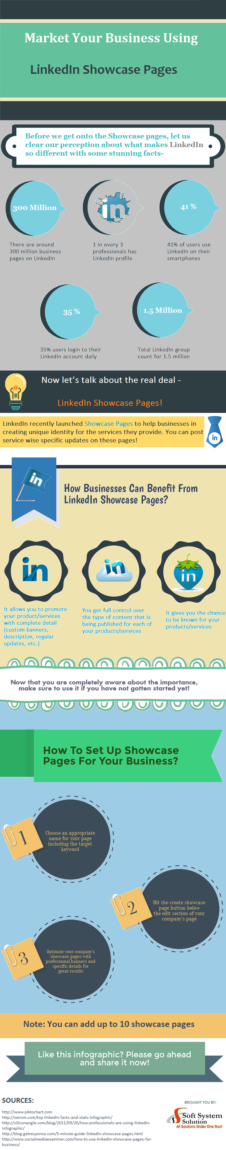 Market Your Business Using LinkedIn Showcase Pages