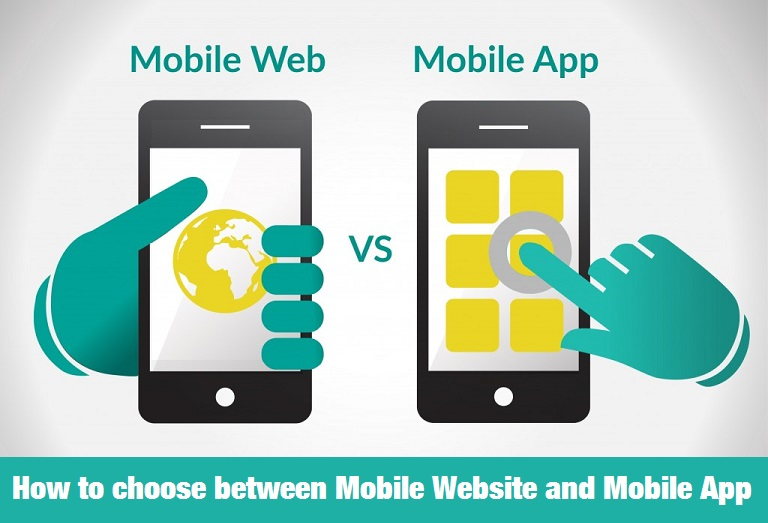 New  Mobile Website Vs Mobile App